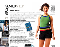 Janina Gavankar Genlux Magazine Photo shoot