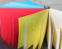 Printing Process (handmade book)