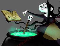 The Witch Drusilla!