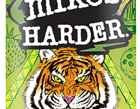 Mike's Harder - Tiger's Blood Design Contest Entry