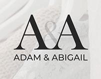 Adam & Abigail - Logo Design