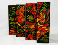 El Fuego del Cantrina - Hot Sauce Packaging Kit