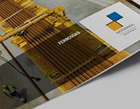 MOTA-ENGIL FERROVIAS / 4 Fold Brochure Design