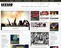 Memo Joomla Pinterest Style Template