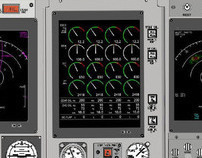 Brazilian Air Force C130 Control Console