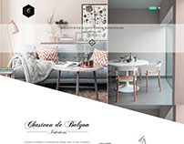 Website, Chasteau de Balyon Interiors