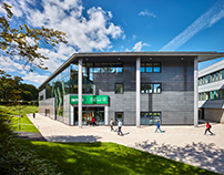 INTO University of Stirling signage