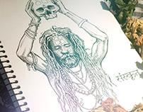 Samsara. Sketchbook