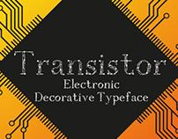 TRANSISTOR Typeface