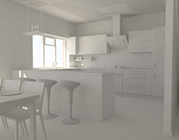 Internal Walkthrough - Clay Rendering