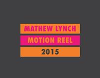 Motion Reel 2015
