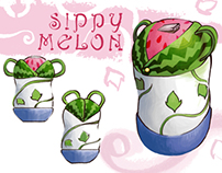 Sippy Melon: Children's bottle