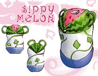 Sippy Melon: Children's bottle