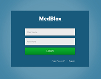 MedBlox Login UI