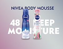 NIVEA BODY MOUSSE 48 H DEEP MOUISTURE
