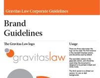 Gravitas Law Branding Excercise