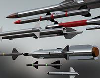 Pack Missile - 3D Model