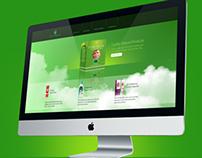 Mila Herbals Web Design