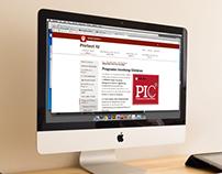 PIC web button, Programs involving children (PSIA)