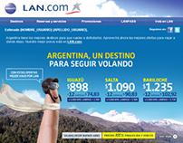LAN.COM - Mailing Design