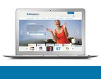 Metagenics Website