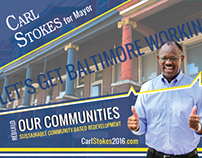 Stokes for Mayor of Baltimore: Campaign Media