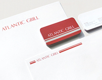ATLANTIC GRILL: Graphic Identity