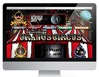 Uranus Circus Website: HTML ONLY
