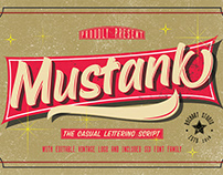 Mustank Casual Font