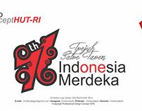 HUT RI 71 Logo (Karya Ane) Ragam budaya Indonesia