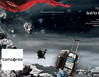 Samsonite Pro - DLX³ Advertisement