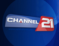 Logo design of CHANNEL 21 by SADEK AHMED