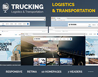 Trucking - Transportation & Logistics HTML Template