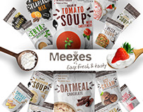Meexes package branding and product design