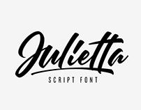 Julietta, Script Font