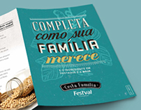 Folder | Cesta família Festval