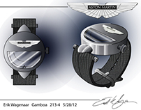 Aston Martin Watch Design