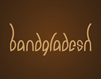 Bandgladesh - Branding - Typography
