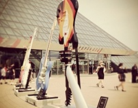 Guitar Design for Guitar Mania. Cleveland, Ohio