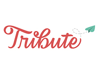 Tribute Logo- Digitally Drawn Lettering