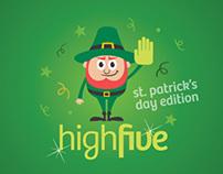 HighFive St. Patrick's Day Edition - Clube Chalezinho