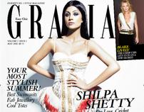 Work at Grazia India