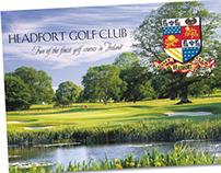 Headfort Golf Club Brochure/Folder