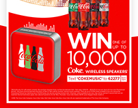 Coca-Cola: Giveaway Promotion Campaign