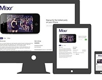 Mixr, Inc. Corporate Website
