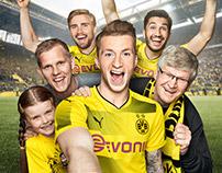 Commercial Cover Retouch  Borussia Dortmund