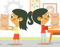 Genoma, Ilustraciones para video para Ecopetrol / 2012