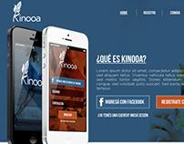 Kinooa Application Website and Branding