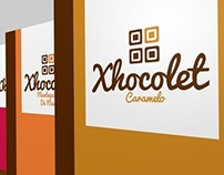 Xhocolet Logo & Packaging