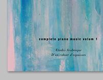 Claude Debussy classic album promotion poster